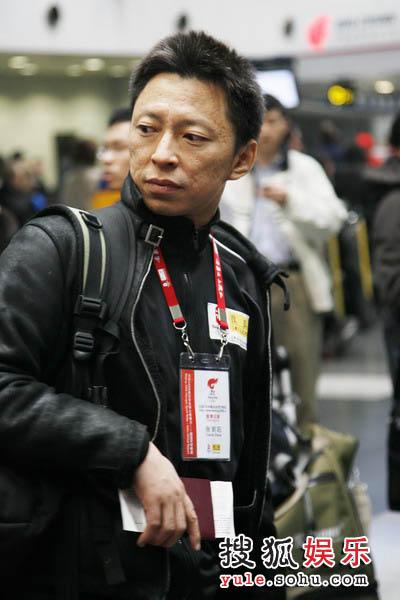 图文:奥运官网报道团赴希腊 张朝阳整装待发