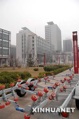 组图:2008北京奥运会青岛奥帆中心初亮倩影