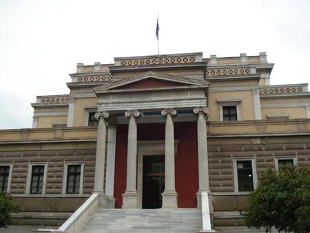 希腊国家历史博物馆全景