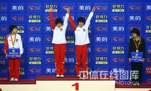 陈若琳王鑫夺冠