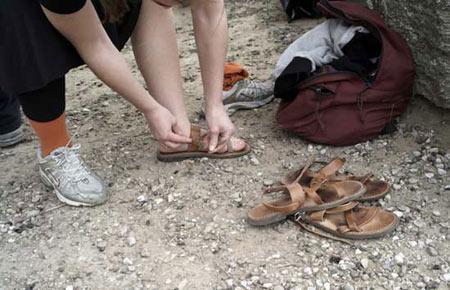 女祭司采集仪式所穿的鞋