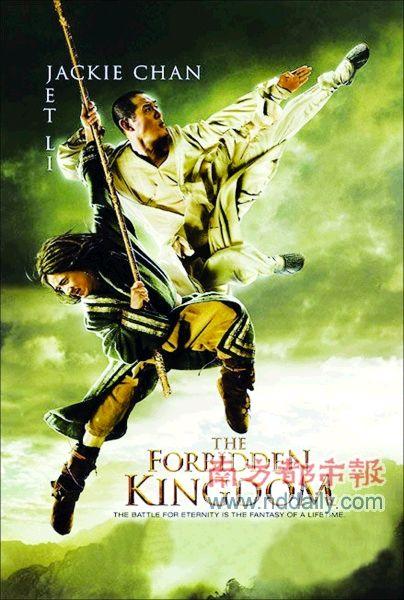 成龙,李连杰上下翻飞的招式让人回味起两人的《醉拳》和《少林寺》.图片