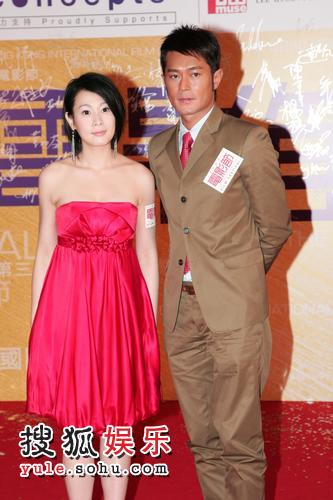古天乐和刘若英因戏成好友
