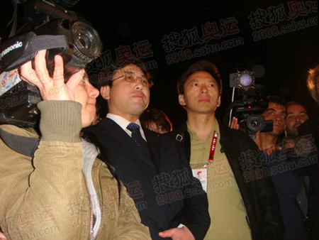 张朝阳和北京市海淀区副区长于军