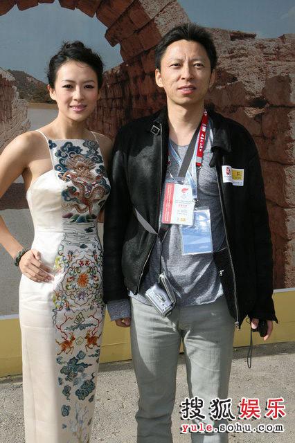 张朝阳先生与章子怡