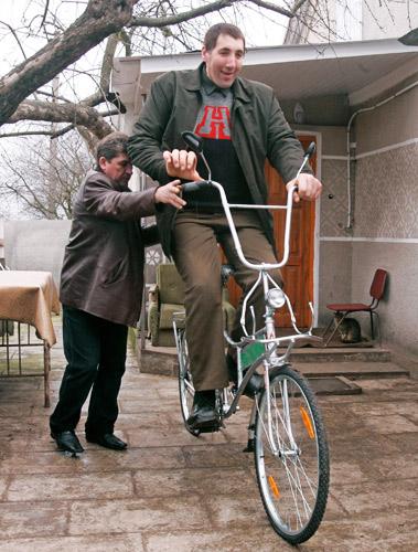 乌克兰的世界第一高人