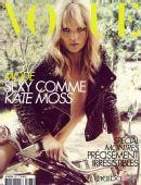 组图:凯特-莫斯登《Vogue》 化身摇滚机车女郎