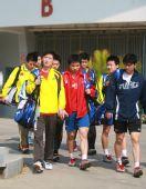 图文:羽毛球队晋江备战奥运会 球员们意气奋发