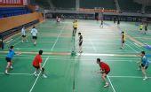 图文:羽毛球队晋江备战奥运会 训练如火如荼