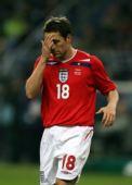 图文:[友谊赛]法国1-0英格兰 欧文替补出场