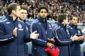 图文:[友谊赛]法国1-0英格兰 英格兰替补席