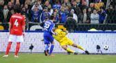 图文:[友谊赛]法国1-0英格兰 骗过詹姆斯