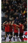 图文:西班牙1-0意大利 斗牛士战无不胜