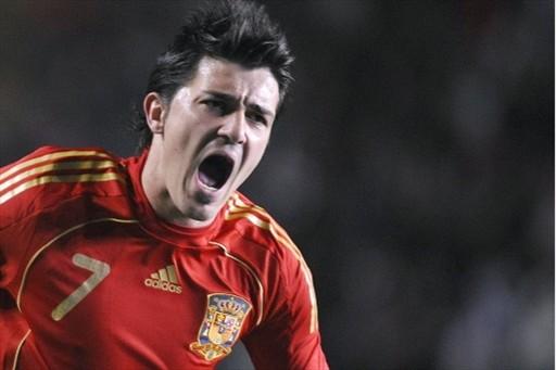 图文:西班牙1-0意大利 比利亚怒吼