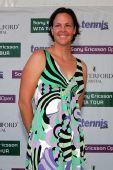 图文:2007年度WTA颁奖典礼 达文波特心情大好