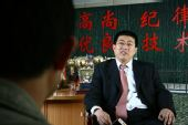图文:[访谈]青岛总经理做客 于涛侃侃而谈