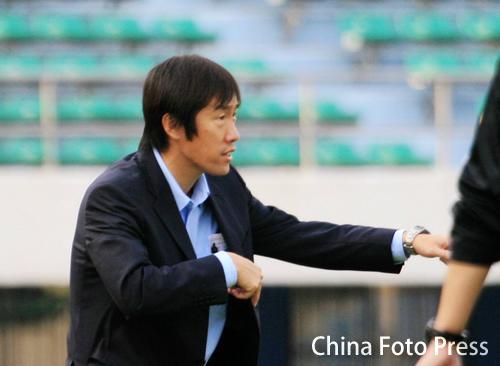 图文:[中超]2008赛季16强主帅 长春主帅高洪波