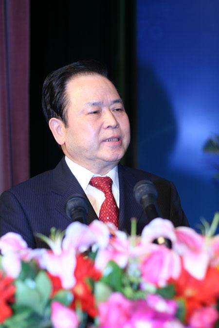 上海实业(集团)有限公司董事长蔡来兴发表获奖感言
