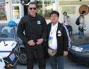 与帅气的警察