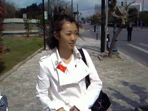 学生代表王安妮