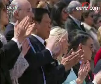 北京奥组委主席刘淇