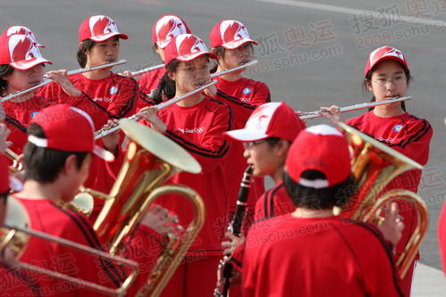 鼓乐队准备表演