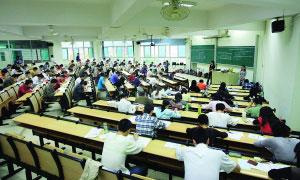 华南理工大学考场。本报记者王辉摄