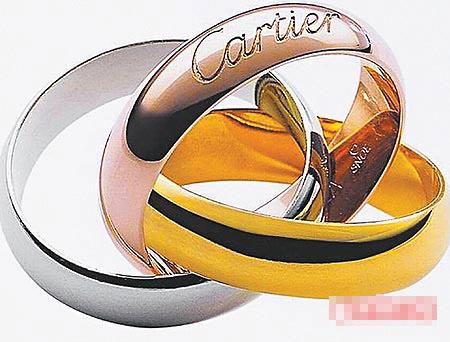 Cartier经典三环戒