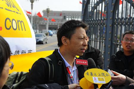 图文:官网记者张朝阳结束雅典行 看奥运上搜狐