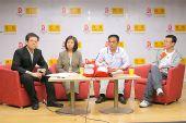 联想副总裁李岚与李兴钢、全二平做客搜狐