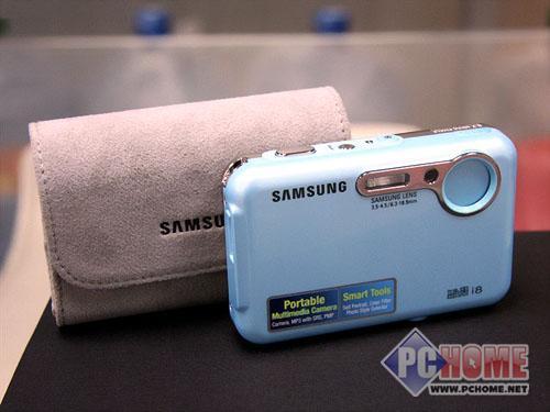 点击查看本文图片 三星 i8 - 多媒体高清卡片相机三星蓝调i8售1699