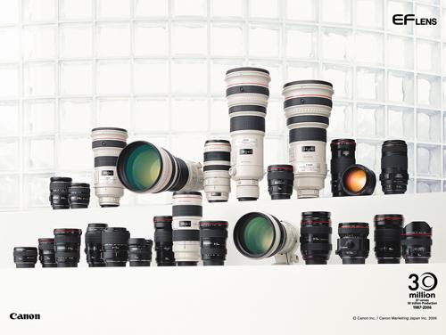 28款产品集体跳水 佳能镜头最新价格公布