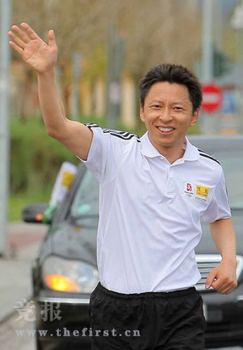 官网首席记者张朝阳体验马拉松
