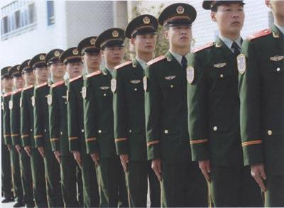 05武警士兵夏常服