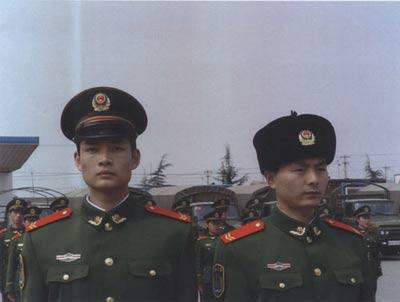 05武警士兵冬常服