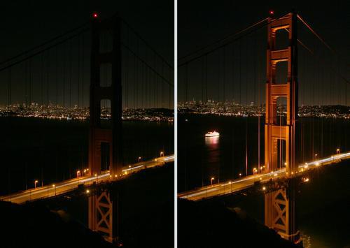 图文:旧金山风光 旅游景点之金门大桥