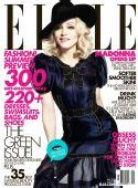 麦当娜同时登上《ELLE》美、英版5月号封面
