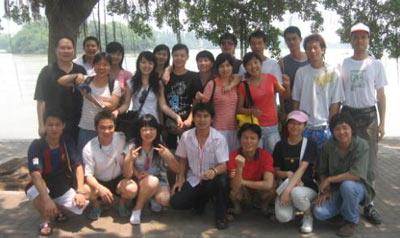 学生们大亚湾之旅