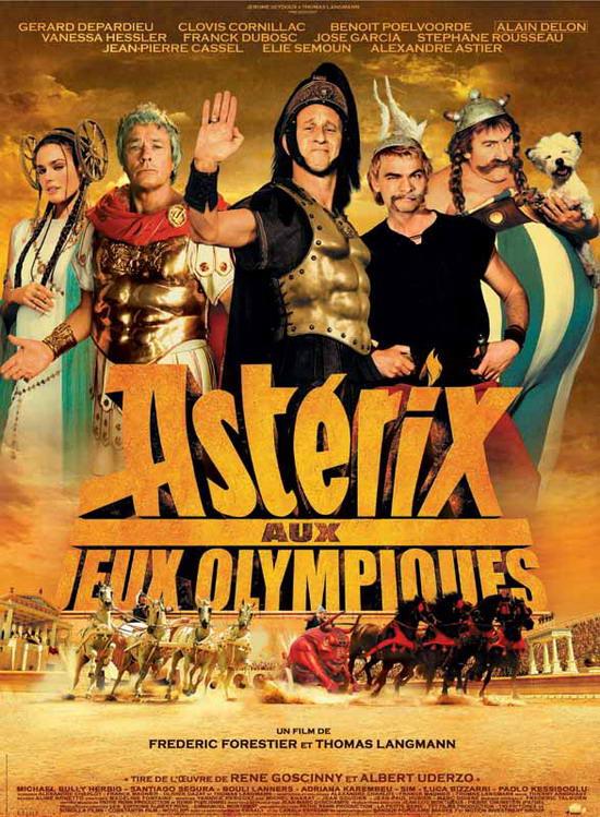 资料:参展影片--《奥运会上的阿斯特里克斯》