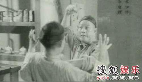刘湛,举手打的匪徒是儿子刘家良。