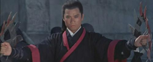 唐佳早年偶尔也客串角色。图为《独臂刀王》