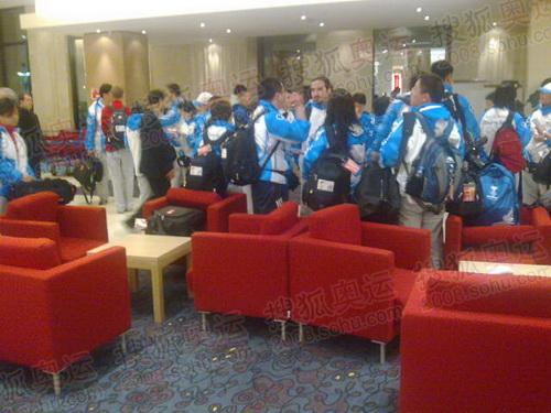 奥运官方报道团已抵达圣彼得堡 摄影/陈吉宁