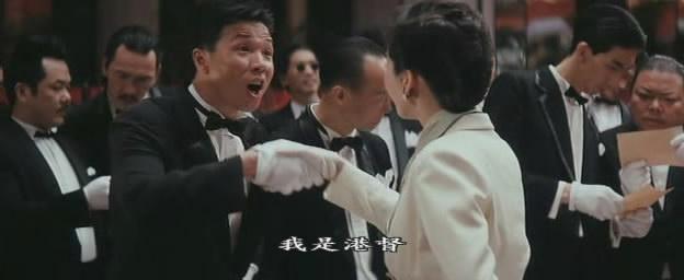 《奇迹》饰演黑帮分子,台词是:我是港督