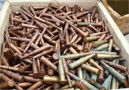 美国公司向阿军警提供的子弹却是库存数十年的劣质子弹[资料图片]
