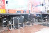 图文:伦敦终点主会场 舞台底部