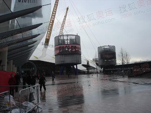 图文:伦敦终点主会场 千年穹顶