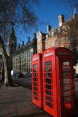 图文:英伦风情 街头电话亭