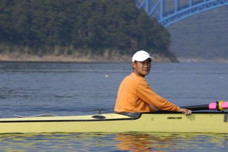 图文:奥运舵手选拔圆满谢幕 只要付出定有收获