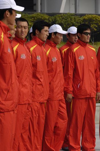 图文:奥运舵手选拔圆满谢幕 专业桨手们