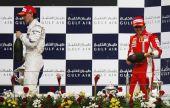 图文:[F1]巴林大奖赛正赛 库比卡兴奋不已